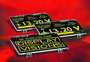 Versatile OLED Displays from DISPLAY VISIONS