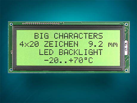 Character Displays with HD44780